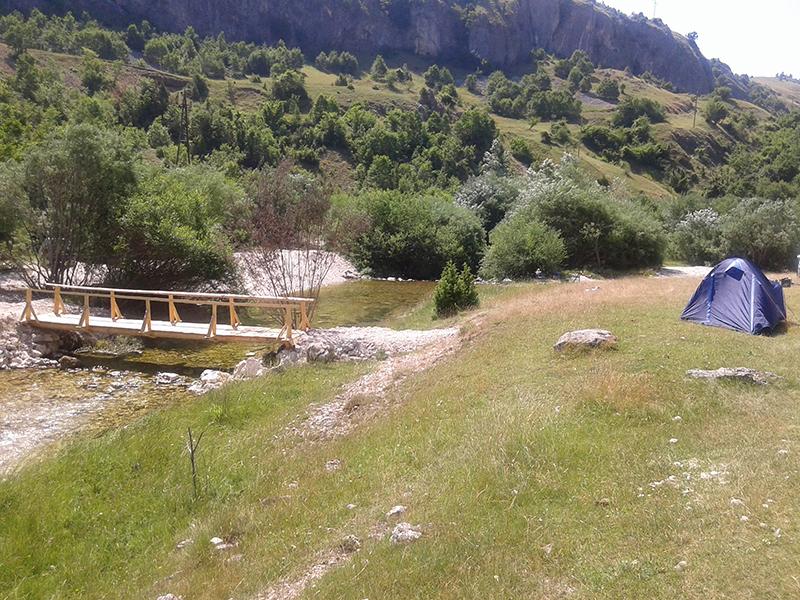 Četrnaesto uzastopno kampovanje na Komarnici