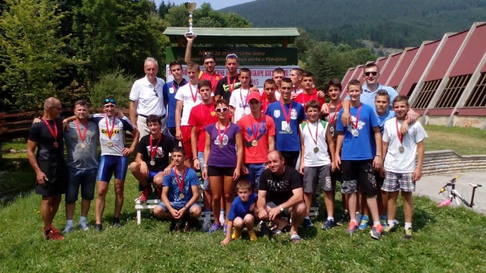 Uspjeh nikšićkih biciklista na MTB XCO prvenstvu Crne Gore