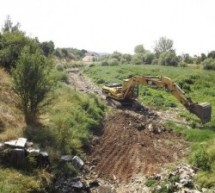 Ukljanjanje otpada iz korita rijeke Bistrice