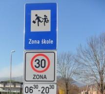 Unaprijeđena bezbjednost u saobraćaju u zonama osnovnih škola