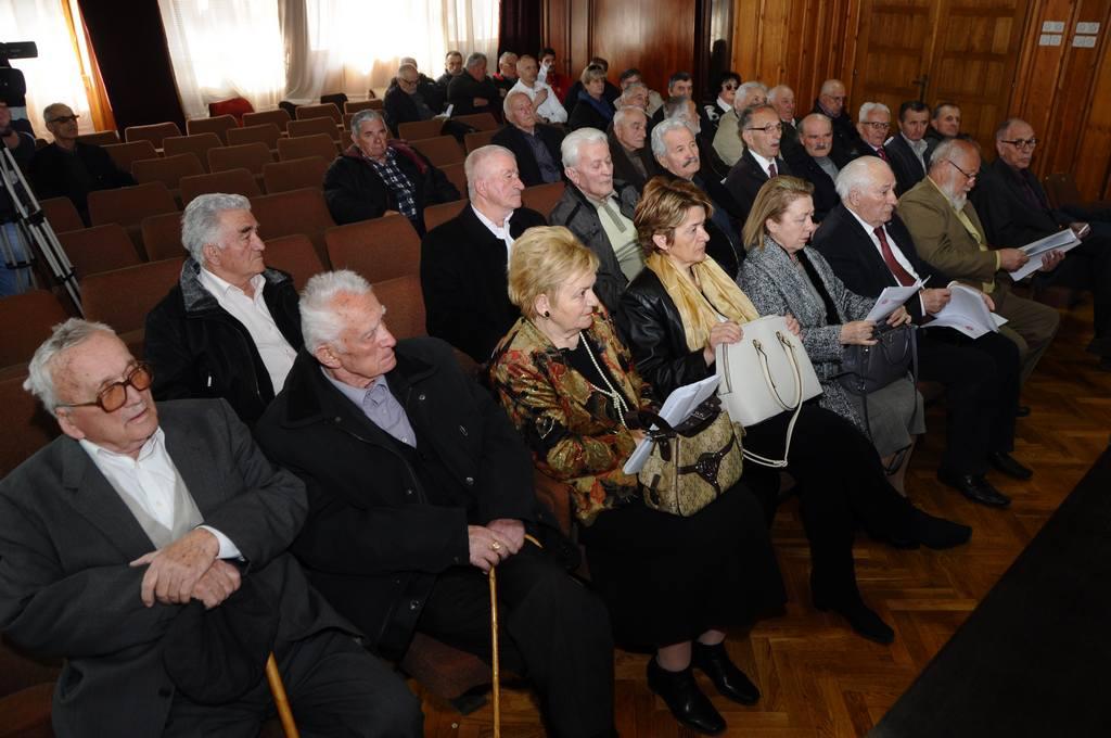 Redovna godišnja sjednica Opštinskog odbora UBNOR-a i antifašista Nikšić