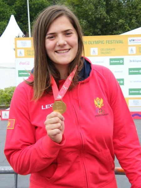 Kristina Rakočević, juniorska svjetska šampionka u atletici