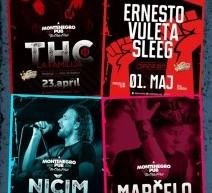 Bogat muzički program u Montenegro Pub-u