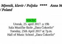Koncert Ane Mjernik