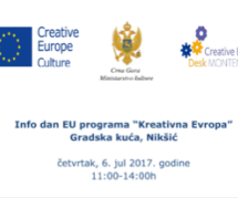 Info dan EU programa Kreativna Evropa