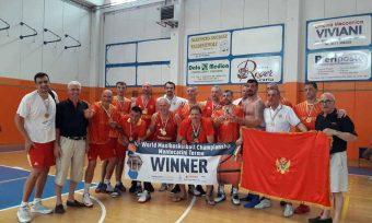 Crnogorski veterani preko Srbije do svjetske titule