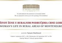 Život žene u ruralnim područjima Crne Gore