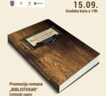 "Promocija romana ""BIBLIOTEKAR"""