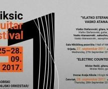 Dvanaesto izdanje Međunarodnog festivala gitare Nikšić 2017
