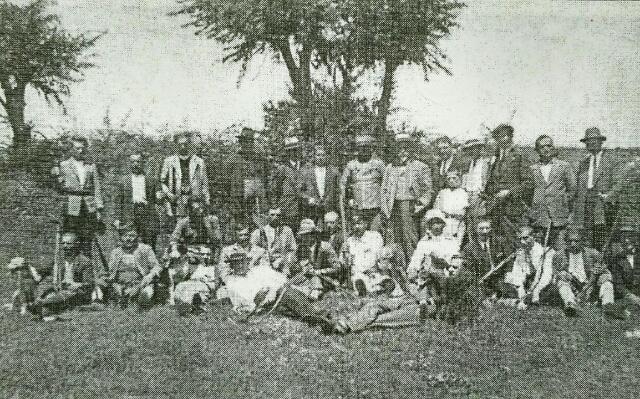 Novine-Grupa niksickih lovaca 1934-35. godine