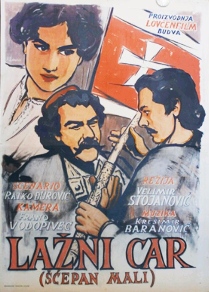 Novine-Lazni car poster