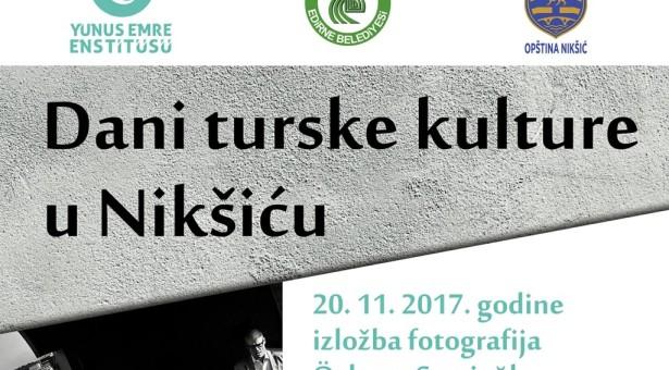 Nedjelja turske kulture u Nikšiću