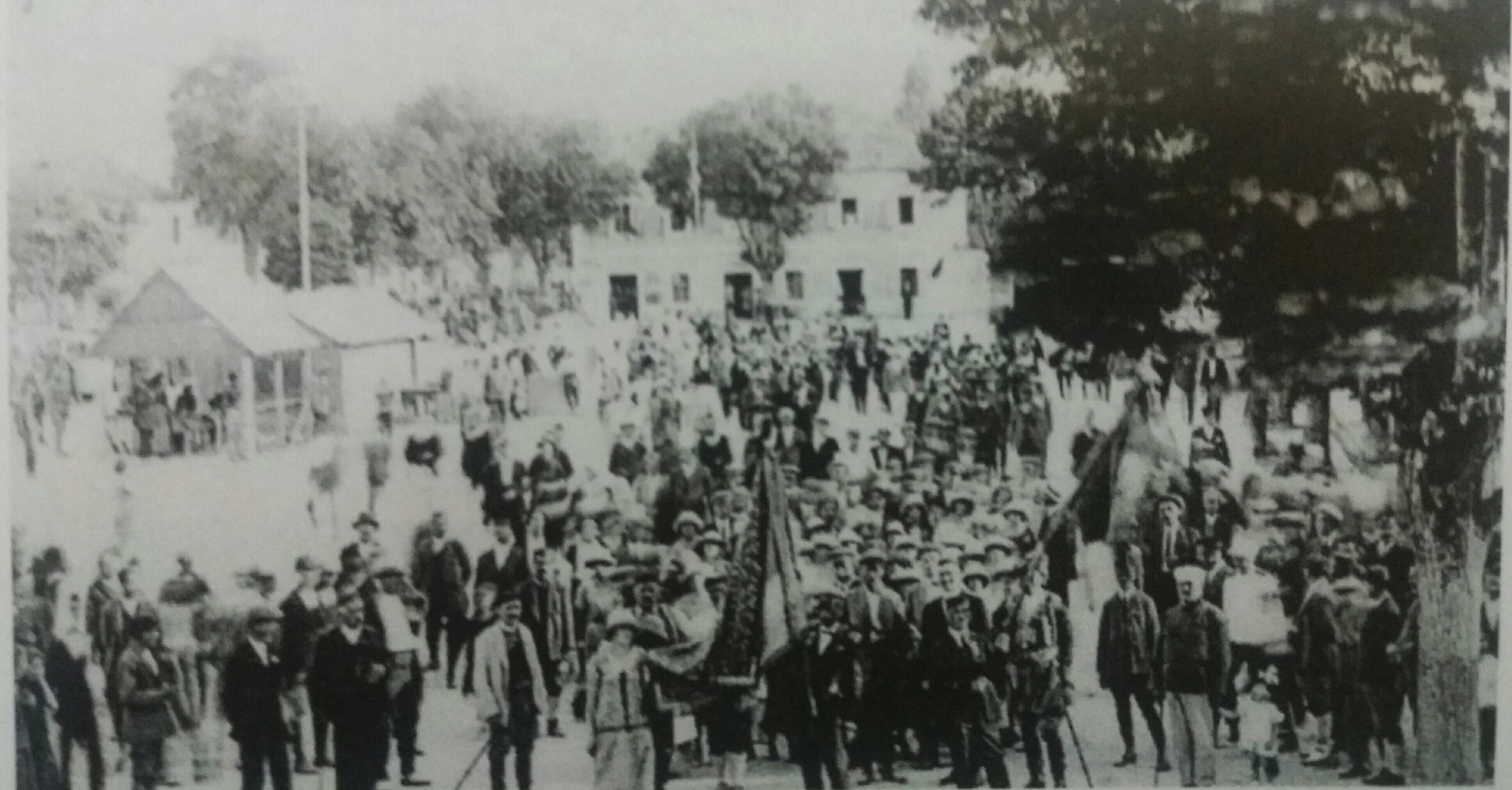 Masovna okupljanja na trgu