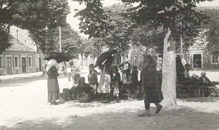 Novine-Trg 1927. godine