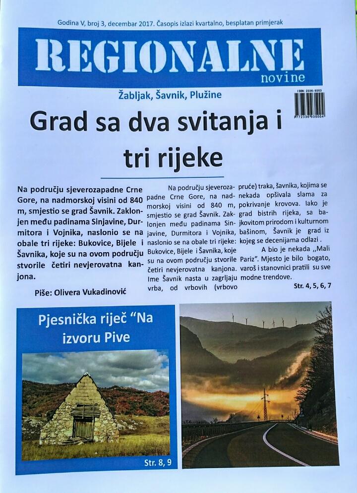 Izašao iz štampe novi broj Regionalnih novina