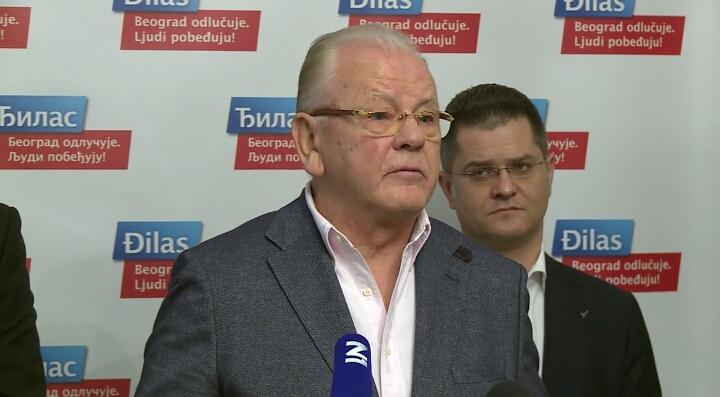 Duda Ivković podržao Đilasa u trci za gradonačelnika
