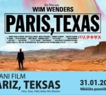 """U Pozorištu projekcija filma """"Pariz, Teksas"""""""
