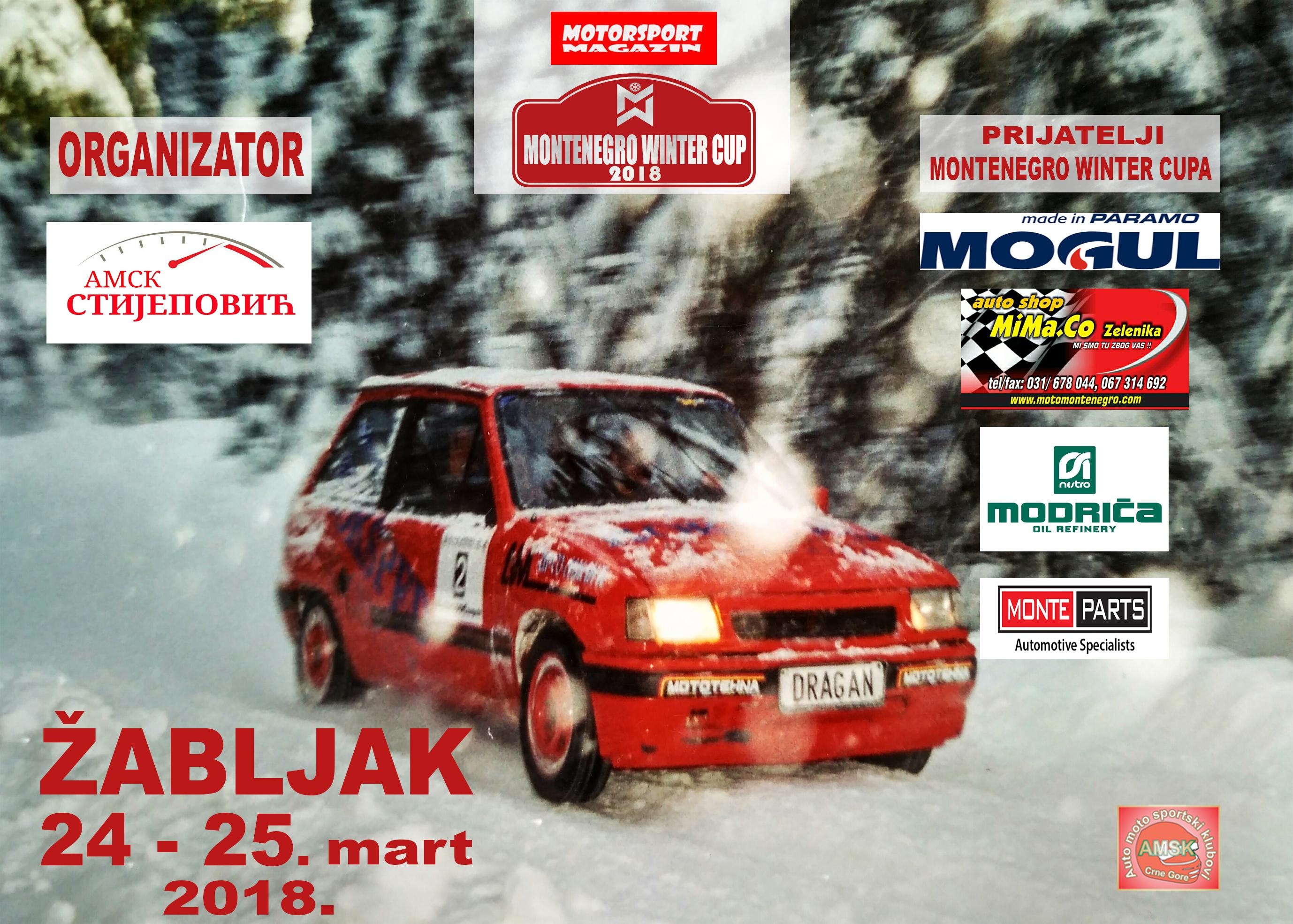 Druga trka Montenegro Winter Kupa ovog vikenda na Žabljaku