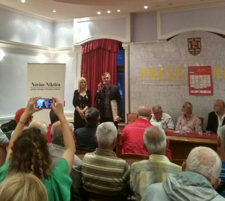 Novinama Nikšića Povelja za doprinos jačanju antifašizma