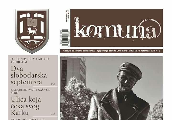 Septembarski broj Komune u cjelosti posvećen Nikšiću