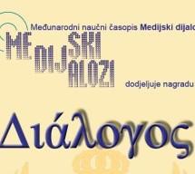 Pet rukopisa konkurisalo za jubilarnu Nagradu Dialogos