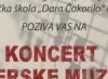 Koncert operske muzike povodom jubileja Muzičke škole