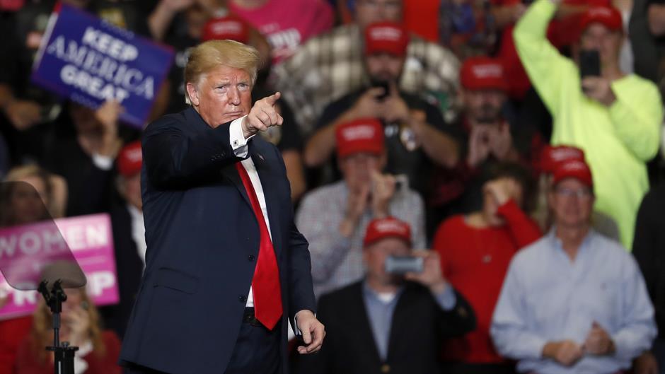 Tramp traži podršku birača:
