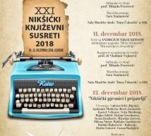 XXI Nikšiċki knjiżevni susreti
