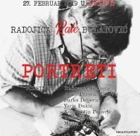 """Izložba """"PORTRETI"""" autora Radojice Rala Bulatovića"""