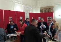 Otvorena izložba naslovnih stranica lokalne štampe na Cetinju