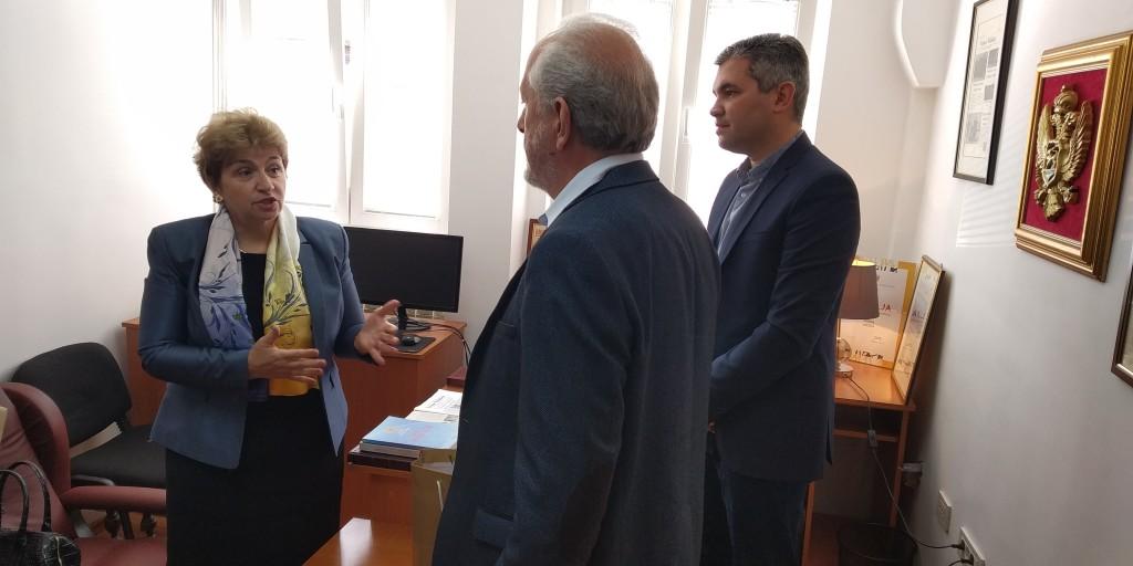 Posjeta Ambasadorke Bugarske Novinama Niksica (1)