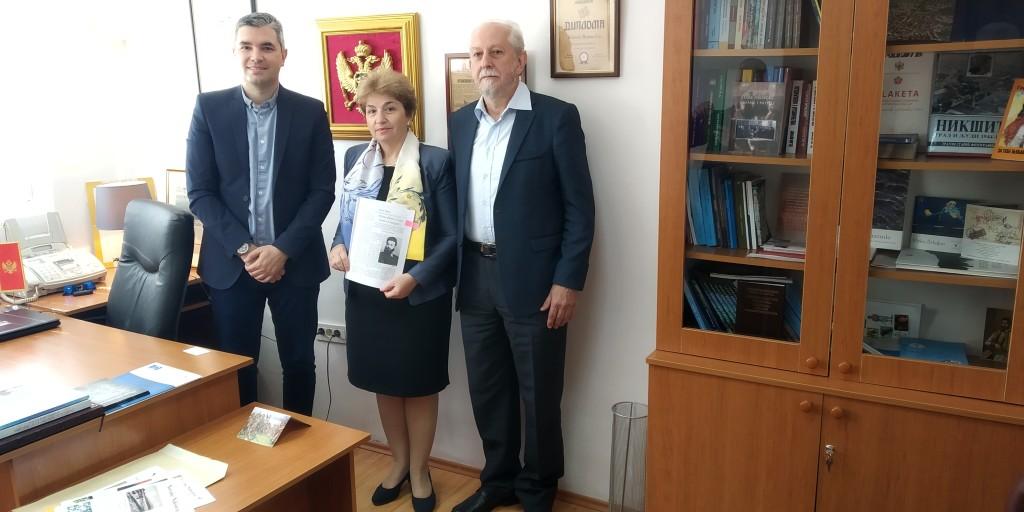 Posjeta Ambasadorke Bugarske Novinama Niksica (4)