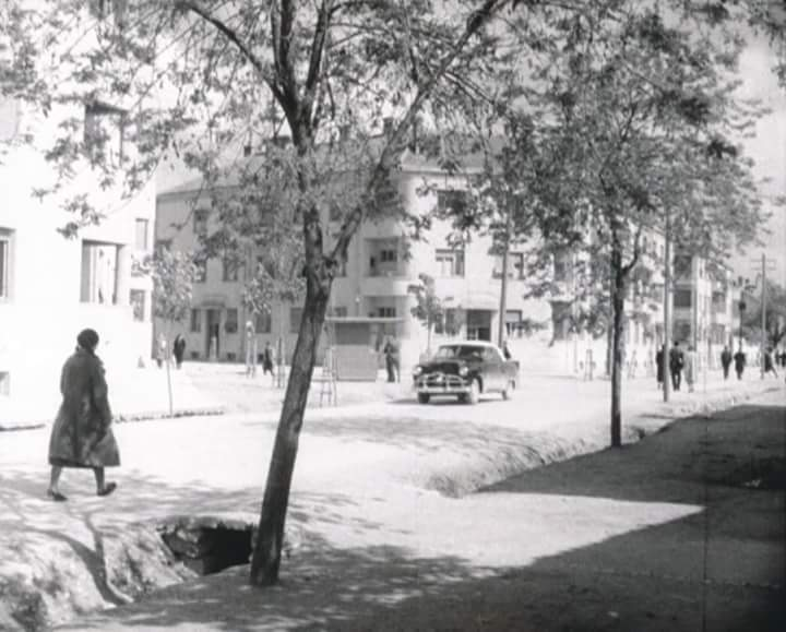 Novine-Niksic 1957. Karadjordjeva i Vuka Micunovica