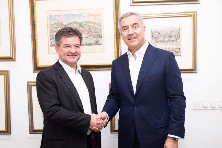 Đukanović i Lajčak: Politika proširenja da bude visoko na agendi nove evropske administracije