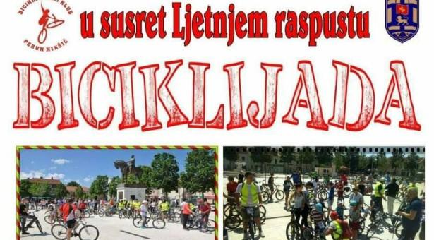 Biciklijada u susret ljetnjem raspustu