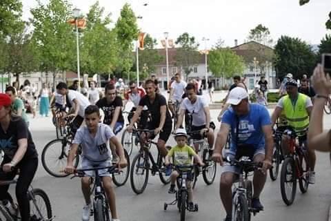 Uspješno održana biciklijada u susret ljetnjem raspustu