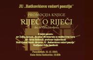 Promocija knjige Mirka Jakovljevića