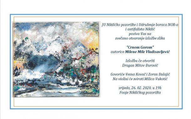 Izložba slika autorke Milene Mile Vladisavljević