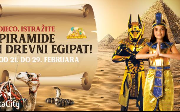"""INTERAKTIVNA DJEČJA IZLOŽBA  """"PIRAMIDE I DREVNI EGIPAT"""""""