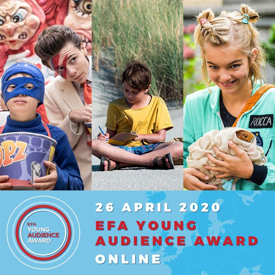 Nagrada mlade publike EFA po prvi put u potpuno virtuelnom formatu