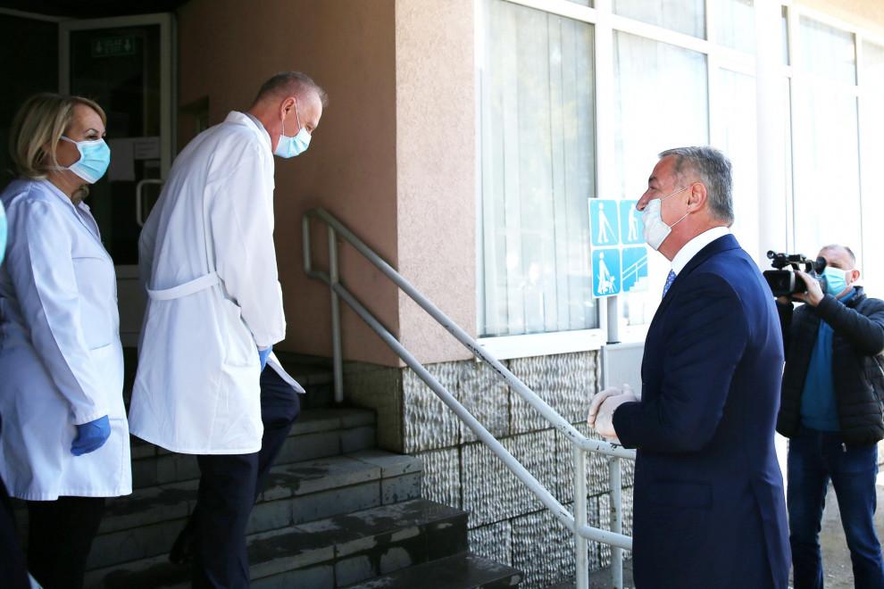 Đukanović: Budimo odgovorni i istrajni, ovo je sada kritično važna faza u trajanju pandemije