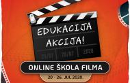 """""""Edukacija – Akcija!"""", online škola filma za mlade"""