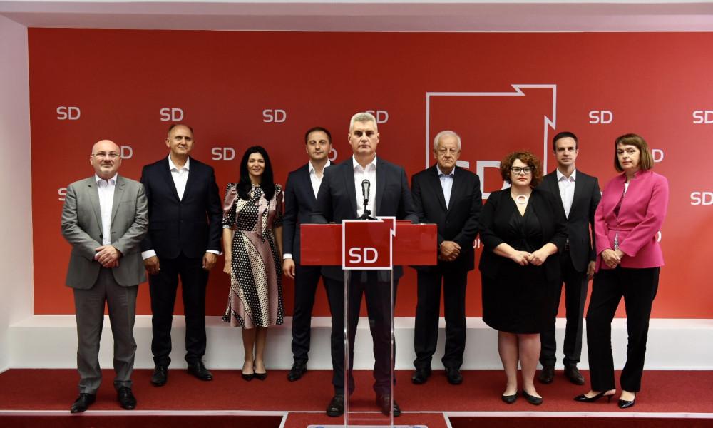 Socijaldemokrate samostalno izlaze na izbore