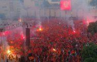 Počeo patriotski skup u Podgorici