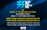 Duvački i Gudački ansambli Crnogorskog simfonijskog orkestra nastupio u Baru