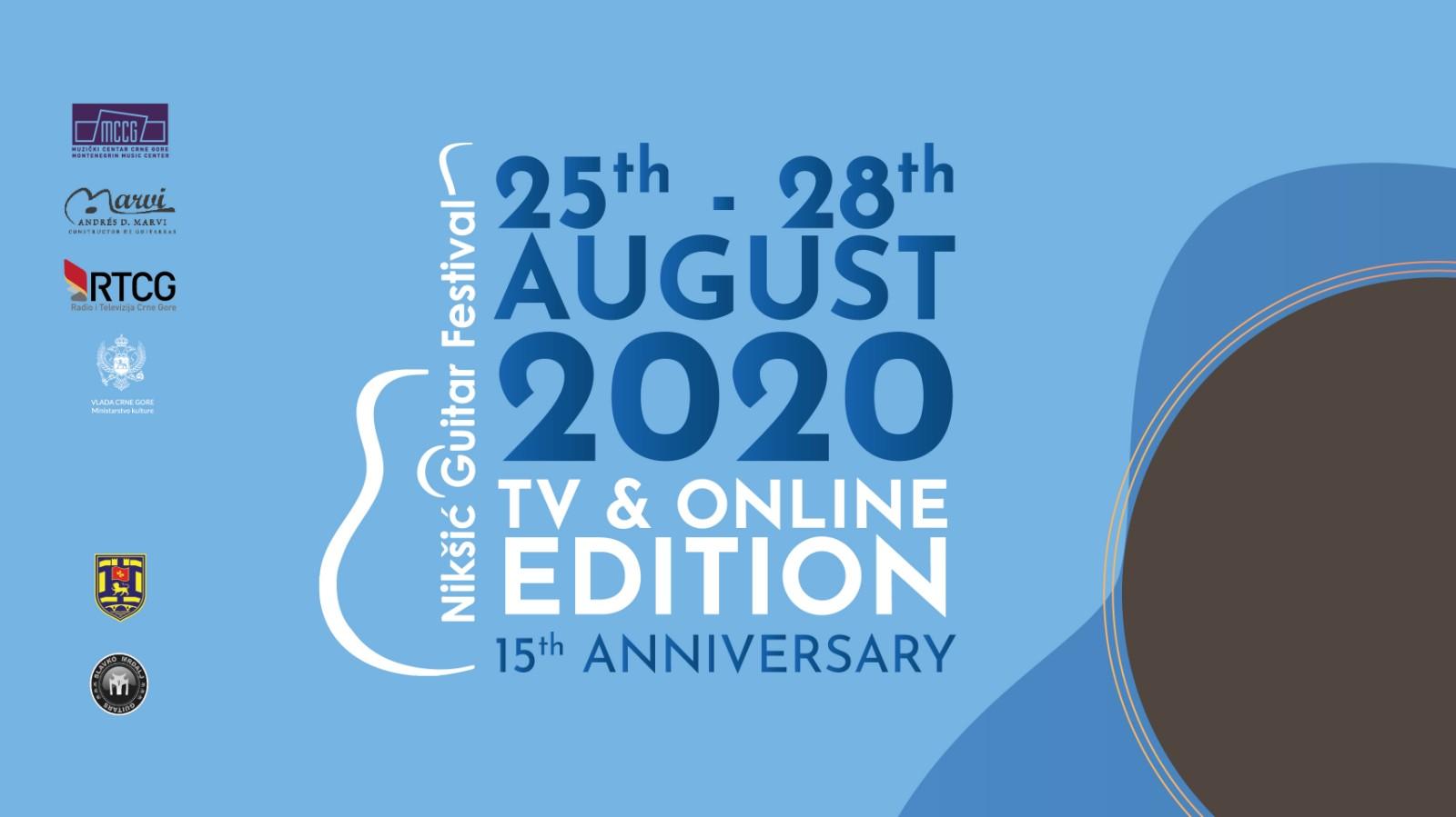 Tivat 2020. i Festival gitare u Nikšiću ispratilo preko 450 000 ljudi širom svijeta