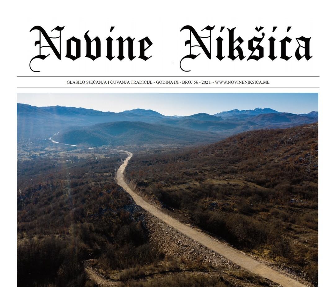 Novi broj Novina Nikšića izašao iz štampe