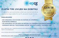 Nagrade za 300 potrošača Zlatnog tima