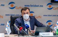 Vujović: Skoro hiljadu birača iz Nikšića upisano i u birački spisak Srbije