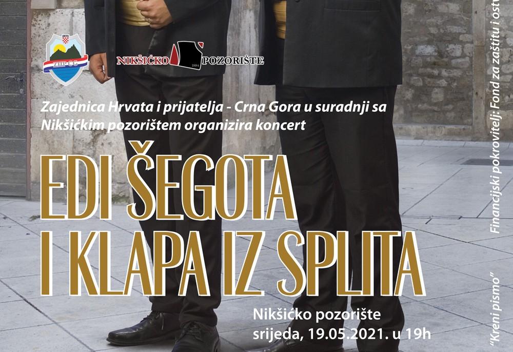 Koncert Edi Šegota i klapa iz Splita
